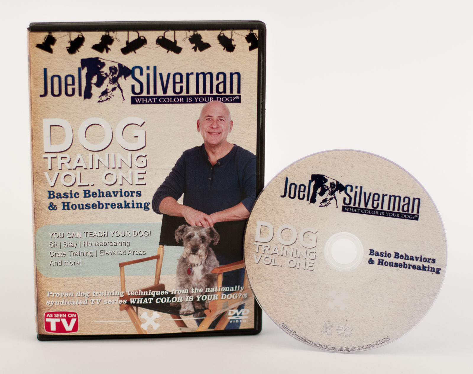 Joel Silverman's Basic Behavior Dog Training Dvd