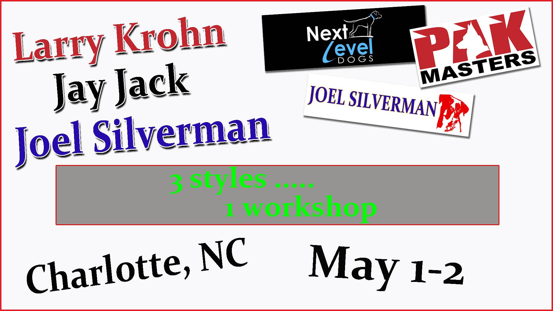 Pick 2 Trainers – JJ, LK, JS – Charlotte, NC