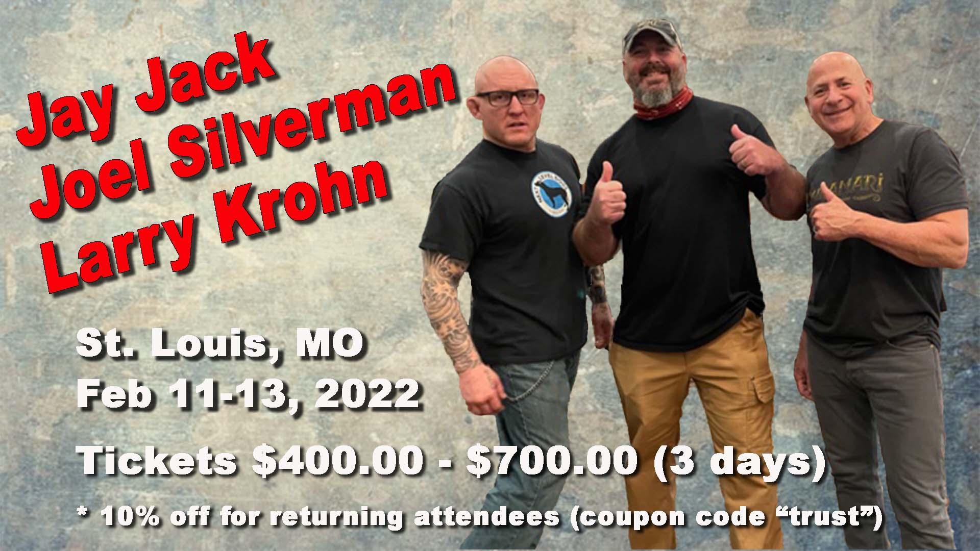 Joel Silverman Jay Jack Larry Krohn St Louis